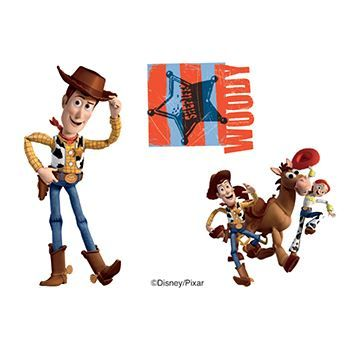 Toy Story: Woody and Friendss Design Water Transfer Temporary Tattoo(fake Tattoo) Stickers NO.13997