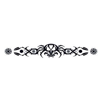 Tribal Spider Armband Design Water Transfer Temporary Tattoo(fake Tattoo) Stickers NO.13190