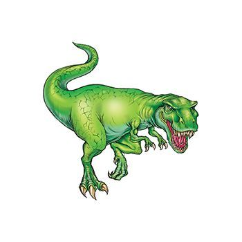 Tyrannosaurus Dinosaur Design Water Transfer Temporary Tattoo(fake Tattoo) Stickers NO.13605