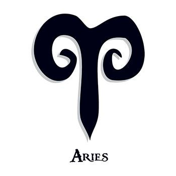 Zodiac: Aries Design Water Transfer Temporary Tattoo(fake Tattoo) Stickers NO.12233
