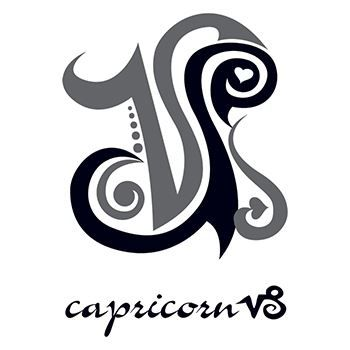 Zodiac: Capricorn Design Design Water Transfer Temporary Tattoo(fake Tattoo) Stickers NO.12249