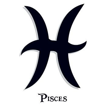Zodiac: Pisces Design Water Transfer Temporary Tattoo(fake Tattoo) Stickers NO.12234