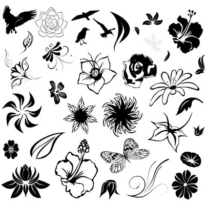 Ankle Design Of Flower Fake Temporary Water Transfer Tattoo Stickers NO.10646