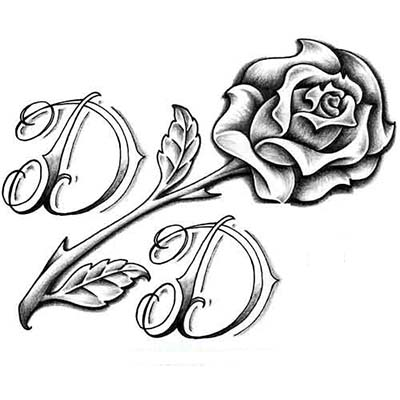 Ankle Roses Design Fake Temporary Water Transfer Tattoo Stickers NO.10642