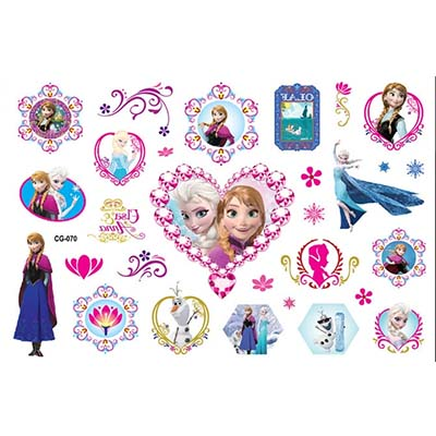 Cute Design Water Transfer Temporary Tattoo(fake Tattoo) Stickers NO.10682