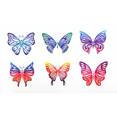 Cute Design Water Transfer Temporary Tattoo(fake Tattoo) Stickers NO.10685