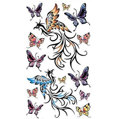 6pcs Fashion Sexy Design Water Transfer Temporary Tattoo(fake Tattoo) Stickers NO.10692