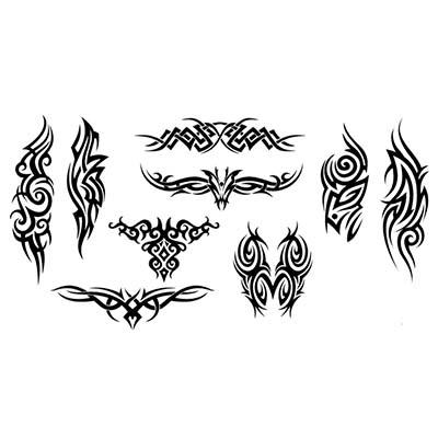 Capricorn Foot Design Water Transfer Temporary Tattoo(fake Tattoo) Stickers NO.10765