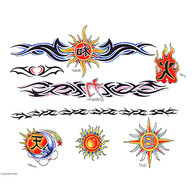 Tribal armband designs Water Transfer Temporary Tattoo(fake Tattoo) Stickers NO.10810