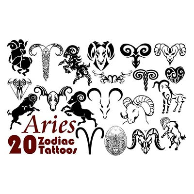 Aries Symbol On Wrist Design Water Transfer Temporary Tattoo(fake Tattoo) Stickers NO.10817