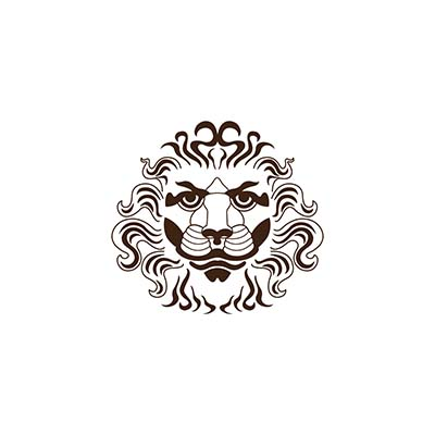 Wrist Roma Coffee Lion Design Water Transfer Temporary Tattoo(fake Tattoo) Stickers NO.10831