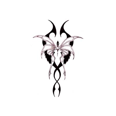 Butterfly Wings Tattoo For Girls Design Water Transfer Temporary Tattoo(fake Tattoo) Stickers NO.11061
