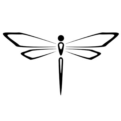 Dragonfly Design Water Transfer Temporary Tattoo(fake Tattoo) Stickers NO.11164