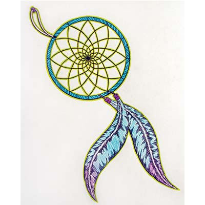 Dream Catcher Design Water Transfer Temporary Tattoo(fake Tattoo) Stickers NO.11173