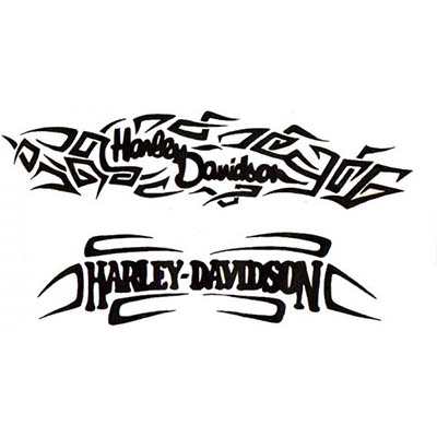 Harley Davidson Design Water Transfer Temporary Tattoo(fake Tattoo) Stickers NO.11266