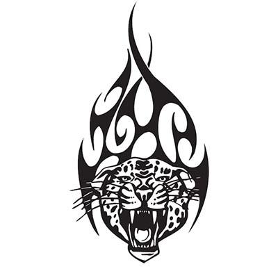 Tribal Tiger Design Water Transfer Temporary Tattoo Fake Tattoo