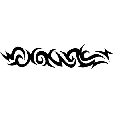 Tribal Armband Design Water Transfer Temporary Tattoo(fake Tattoo) Stickers NO.11644