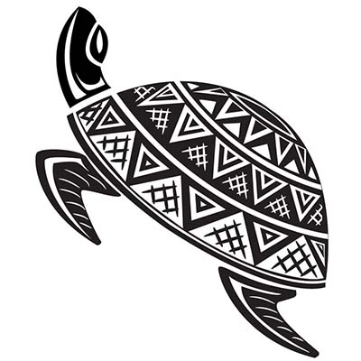 Turtle Design Water Transfer Temporary Tattoo(fake Tattoo) Stickers NO.11672