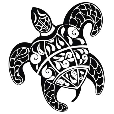 Turtle Design Water Transfer Temporary Tattoo(fake Tattoo) Stickers NO.11676