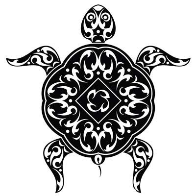 Turtle Design Water Transfer Temporary Tattoo(fake Tattoo) Stickers NO.11679
