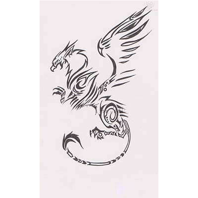 Celtic designs Fake Temporary Water Transfer Tattoo Stickers NO.10231