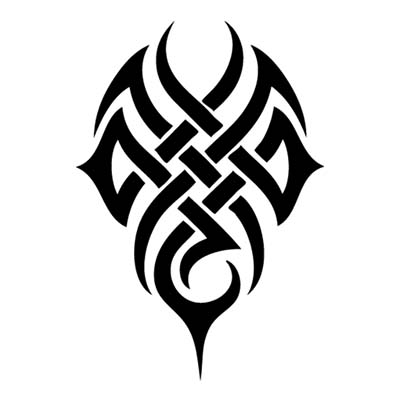 Tribal Celtic Sample designs Fake Temporary Water Transfer Tattoo Stickers NO.10230