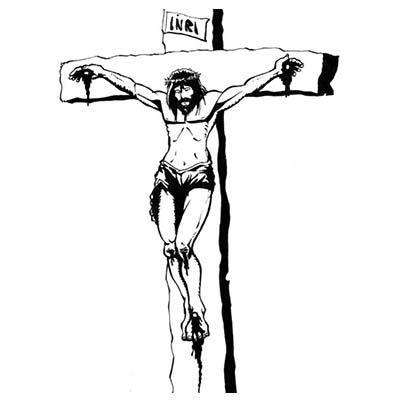 Christian Jesus on the cross designs Fake Temporary Water Transfer Tattoo Stickers NO.10291