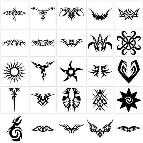 More Egyptian Samples designs Fake Temporary Water Transfer Tattoo Stickers NO.10324