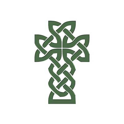 Mexican Cross tattoo design with celtic knots designs Fake Temporary Water Transfer Tattoo Stickers NO.10431